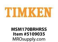 TIMKEN MSM170BRHRSS Split CRB Housed Unit Assembly