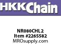 HKK 80-2 Nickel plated double strand offset link
