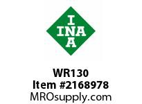 INA WR130 Snap ring shaft