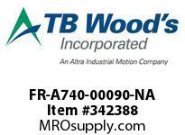 TBWOODS FR-A740-00090-NA CT 5HP (ND) 3HP (HD) 480V