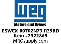 WEG ESWCX-80T02N79-R39BD XP FVNR 40HP/460 N79 230/120V Panels