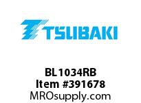 US Tsubaki BL1034RB BL1034 RIV 10 FT. BOX