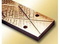 BUNTING B932W006008-IN 1 x 3/4 x 1 C93200 Cast Bronze Wearplate C93200 Cast Bronze Wearplate