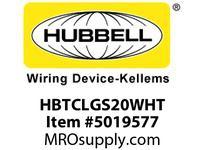 HBL_WDK HBTCLGS20WHT WBACCSCEILINGSUPPORT20^TRAYWHIT E