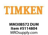 TIMKEN MM30BS72 DUM Ball Screw Support Brg Super Prec