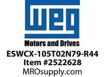 WEG ESWCX-105T02N79-R44 XP FVNR 75HP/460 N79 230/120V Panels
