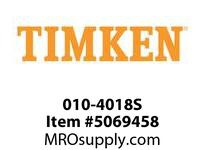 TIMKEN 010-4018S Ball Pulley or Specialty Unit