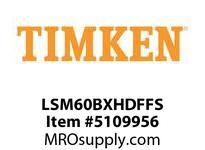 TIMKEN LSM60BXHDFFS Split CRB Housed Unit Assembly