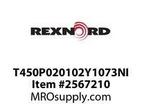 Tollok T450P020102Y1073NI TLK450-21/2INX41/16IN-Y1073-NIC
