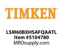 TIMKEN LSM60BXHSAFQAATL Split CRB Housed Unit Assembly