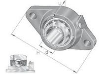 INA RCJTA35 Two-bolt flanged unit