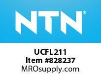 NTN UCFL211 Mounted Units (Cast Iron)