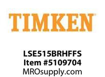 TIMKEN LSE515BRHFFS Split CRB Housed Unit Assembly