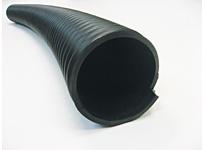Jason 3035-0250-100 PVC HELIX BLACK/BLACK 2-1/2 X 100 HEAVY DUTY ABRASION RESISTANT SBR MATERIAL HANDLING HOSE