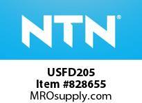 NTN USFD205 Oval flanged bearing unit