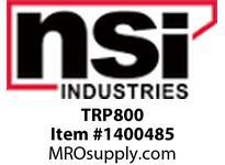 NSI TRP800 8 TRP1 POWERPACKS IN PREWIRED PANEL