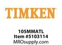 TIMKEN 105MMATL Split CRB Housed Unit Component
