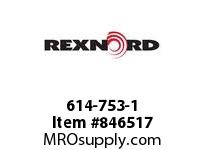 REXNORD 614-753-1 NS8500-27T 60.7MM KW SP CONTACT PLANT FOR ACCURATE DESCRIPT