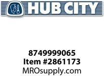 HUB CITY 8749999065 V-RING TCM VA-050 OR EQ Service Part