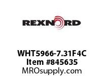 REXNORD WHT5966-7.31F4C WHT5966-7.3125 F1 T4P SP CONTACT PLANT FOR ACCURATE DESCRIPT
