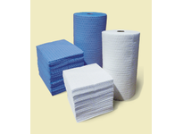 MBT WFMFL150S-1 Fine fiber absorbent rolls have a surface texture similar to tissue paper which is great for gripping smooth surfaces like cement and for removing the oil sheen. They absorb : water. A perforation helps reduce waste.