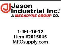 Jason 1-4FL-16-12 CODE 61 FLANGE 4 SPIRAL