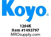 Koyo Bearing 1204K SELF-ALIGNING METRIC BEARING