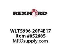 REXNORD WLT5996-20F4E17 WLT5996-20 F4 T17P WLT5996 20 INCH WIDE MATTOP CHAIN W