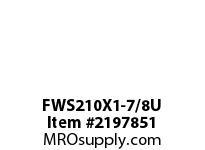 PTI FWS210X1-7/8U 4-BOLT FLANGE BEARING-1-7/8 FWS 200 GOLD SERIES - NORMAL DUTY -