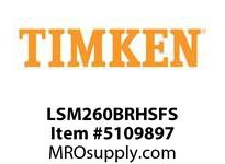 TIMKEN LSM260BRHSFS Split CRB Housed Unit Assembly