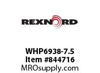 REXNORD WHP6938-7.5 WHP6938-7.5 WHP6938 7.5 INCH WIDE MATTOP CHAIN