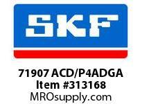 SKF-Bearing 71907 ACD/P4ADGA