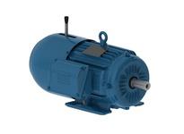 WEG 00512EP3EBM215T 5HP 1200 3 60 208-230/460V Brake Motor