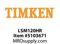 TIMKEN LSM120HR Split CRB Housed Unit Component