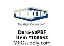 DIXON D815-50PBF 1 1/2 X 50 4515 DJ NST PL BR