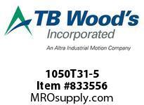 TBWOODS 1050T31-5 1050T31X5.0DBSE G-FLEX HUB