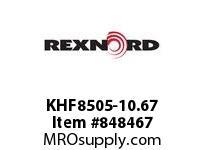 REXNORD KHF8505-10.67 KHF8505-10.67 KHF8505 10.67 INCH WIDE RUBBERTOP M