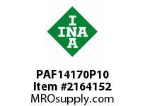 INA PAF14170P10 Flanged plain bearing