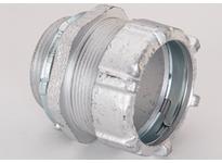 "Bridgeport 3004 1-1/2"" MAL compression connector RGD/IMC"