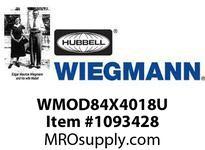 WIEGMANN WMOD84X4018U DISCU1DRMODFS84X39.75X18