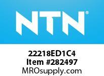 NTN 22218ED1C4 SPHERICAL ROLLER BRG