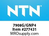 NTN 7908G/GNP4 PRECISION BALL BRG