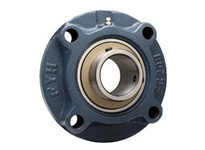 FYH UCFCX08E1 40MM MD SS 4B FLANGE GROOVED FOR COVER