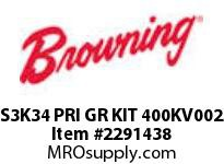 Browning S3K34 PRI GR KIT 400KV002 S3000 ASSY COMPONENTS