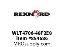 REXNORD WLT4706-48F2E8 WLT4706-48 F2 T8P WLT4706 48 INCH WIDE MATTOP CHAIN W