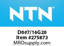 NTN D0#7/16G20 BRG PARTS(STEEL BALL)
