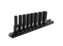 IRWIN 1877481 IMPACT SOCKET 8PC SAE 3/8 DRIVE RAIL SET