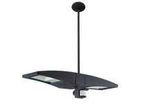 RAB PLED2X10YMS/BL LED PENDANT 2 X 10W WARM + MINI SENSOR BILEVEL BRONZE