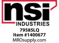 NSI 79585LQ RECTANGULAR INDICATOR .550 X 1.125 AMBER FROSTED LENS