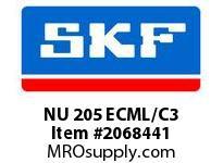 SKF-Bearing NU 205 ECML/C3